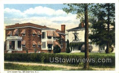 City Hospital - Bridgeton, New Jersey NJ Postcard