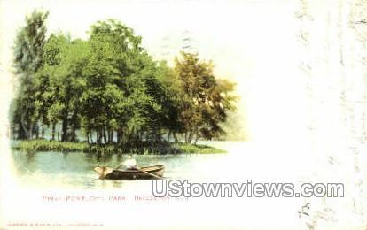 Piney Point, City Park - Bridgeton, New Jersey NJ Postcard
