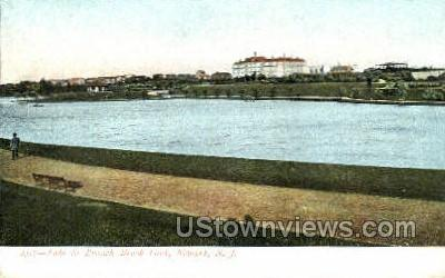 Lake Entrance To Blair Academy  - Newark, New Jersey NJ Postcard