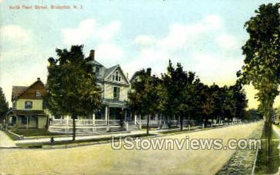 Peral Street  - Bridgeton, New Jersey NJ Postcard