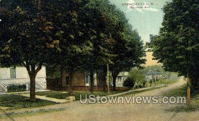 Wantage Avenue  - Branchville, New Jersey NJ Postcard