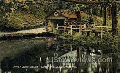 First Boat House  - Bridgeton, New Jersey NJ Postcard