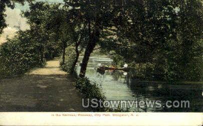 The Narrows  - Bridgeton, New Jersey NJ Postcard