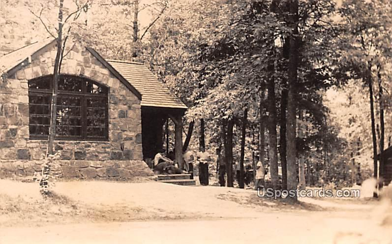 New Jersey State School of Conservation - Branchville Postcard
