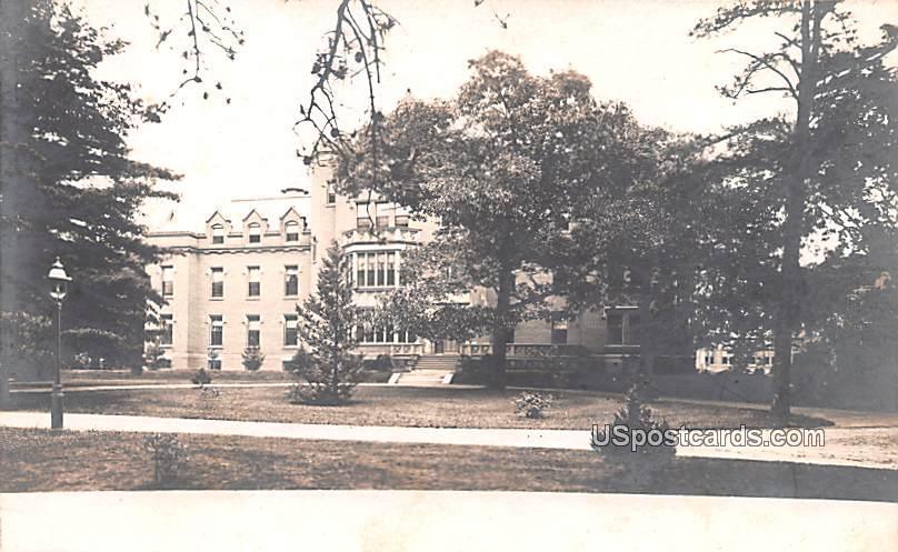 Big Building from Street - Bridgeton, New Jersey NJ Postcard
