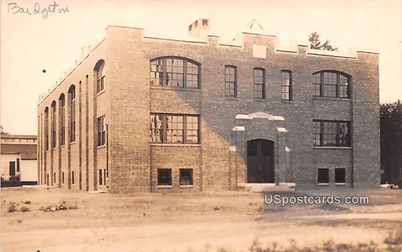 Old Brick Building - Bridgeton, New Jersey NJ Postcard
