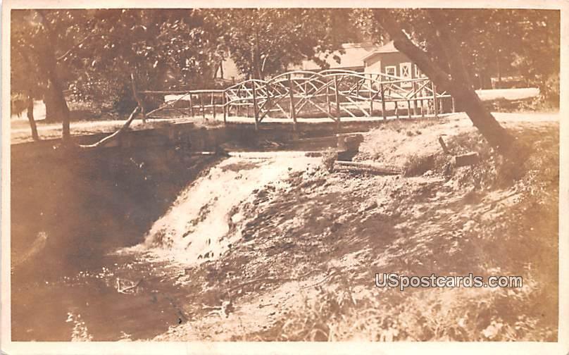 Bridge - Bridgeton, New Jersey NJ Postcard