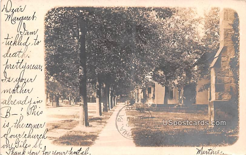 Street Scene - Bridgeton, New Jersey NJ Postcard
