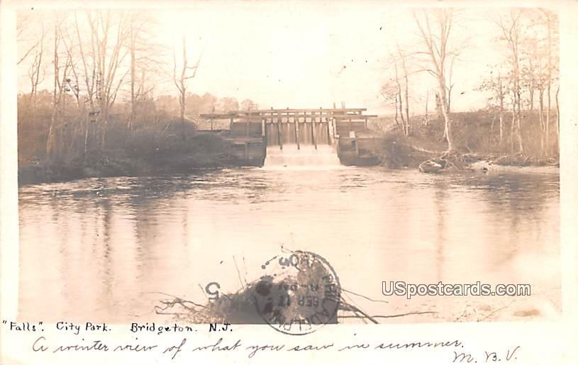 Falls - Bridgeton, New Jersey NJ Postcard