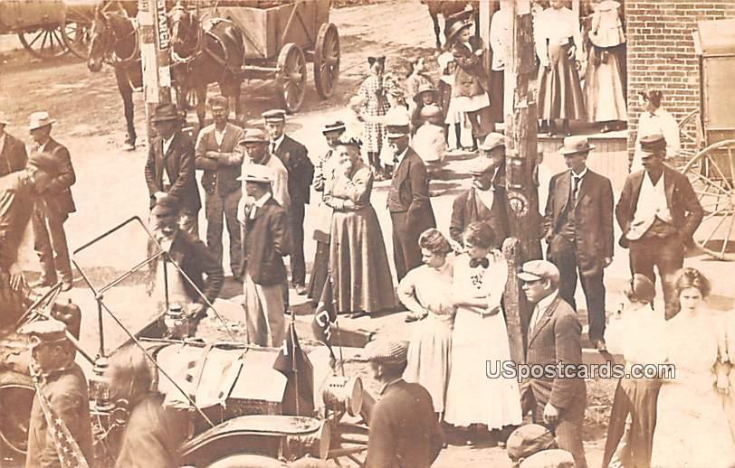 People Gathered - Bridgeton, New Jersey NJ Postcard