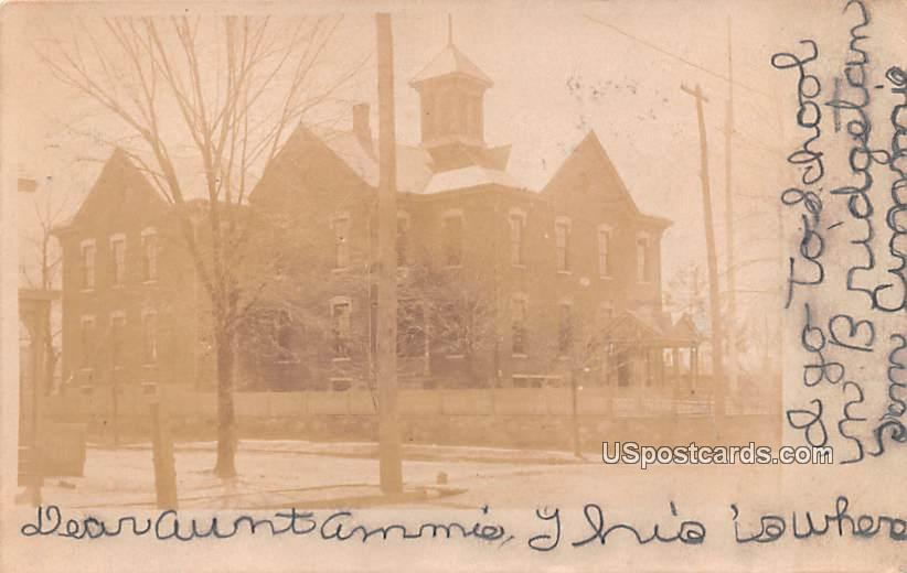 Large School - Bridgeton, New Jersey NJ Postcard