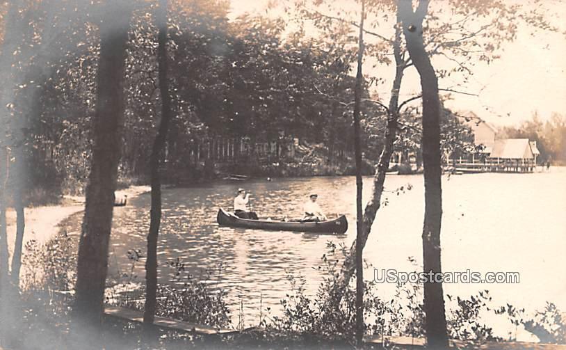 Sunset Lake & Pavilion - Bridgeton, New Jersey NJ Postcard