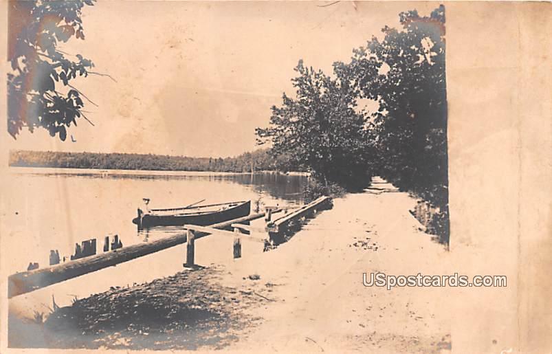 Boat at Dock - Bridgeton, New Jersey NJ Postcard