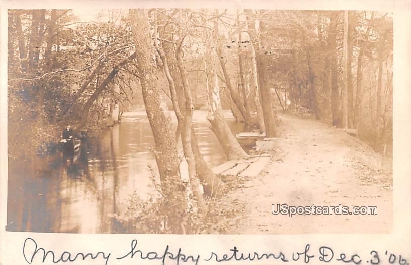On the River - Bridgeton, New Jersey NJ Postcard