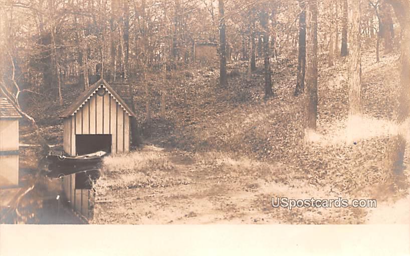 Boat Dock House - Bridgeton, New Jersey NJ Postcard