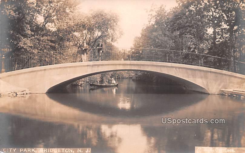 City Park - Bridgeton, New Jersey NJ Postcard
