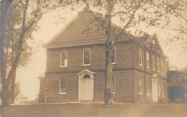 Coharisey Baptist Church Bridgeton, New Jersey Postcard