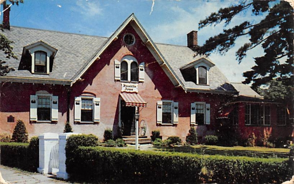 Franklin Arms Bloomfield, New Jersey Postcard