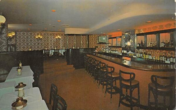 Delmonico Cocktail Lounge Bridgeton, New Jersey Postcard