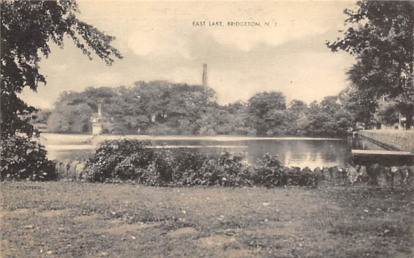 East Lake Bridgeton, New Jersey Postcard