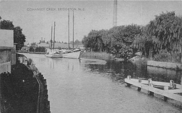 Cohansey Creek Bridgeton, New Jersey Postcard