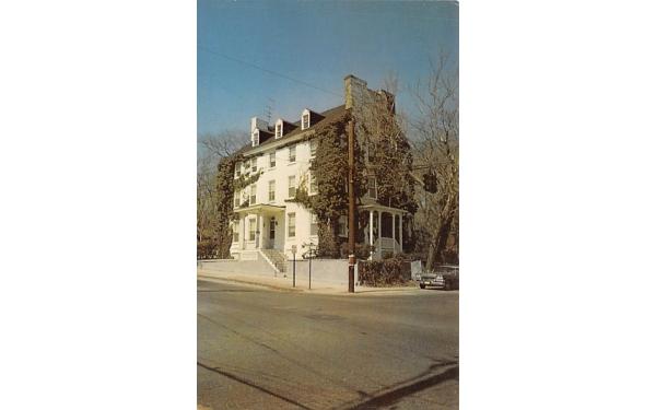Ivy Hall, West Commerce Street at Park Entrance Bridgeton, New Jersey Postcard