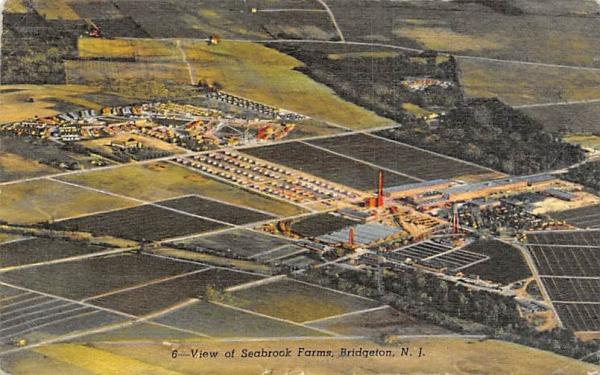 View of Seabrook Farms Bridgeton, New Jersey Postcard