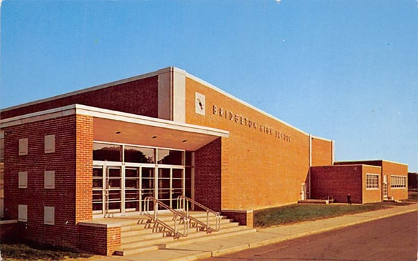 High School Auditorium Bridgeton, New Jersey Postcard
