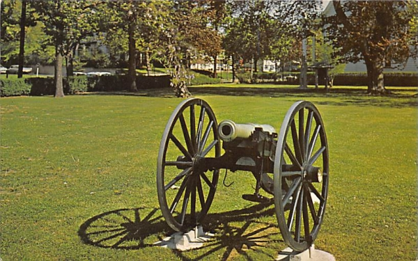 Old Cannon Bloomfield, New Jersey Postcard