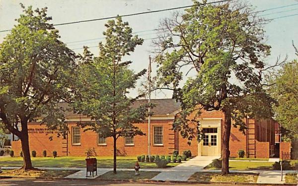 U.S. Post Office Bridgeton, New Jersey Postcard
