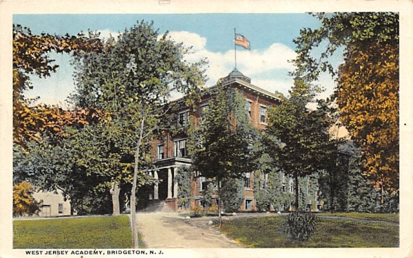 West Jersey Academy Bridgeton, New Jersey Postcard