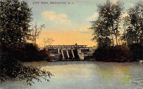 City Park Bridgeton, New Jersey Postcard