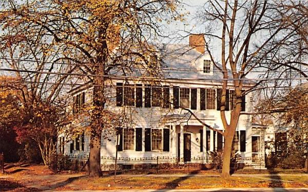 General Giles House Bridgeton, New Jersey Postcard