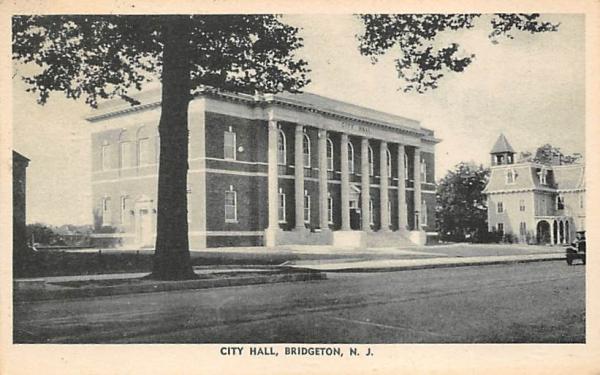City Hall Bridgeton, New Jersey Postcard