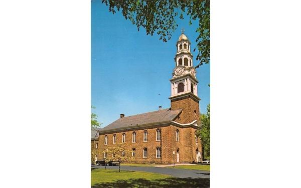 Church on Green, First Presbyterian Church Bloomfield, New Jersey Postcard
