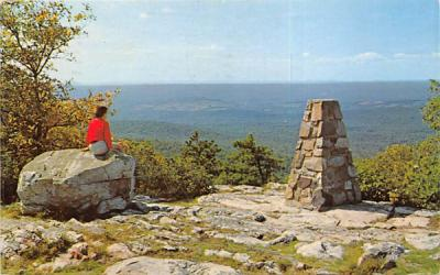 Southwest View Atop Sunrise Mountain Branchville, New Jersey Postcard