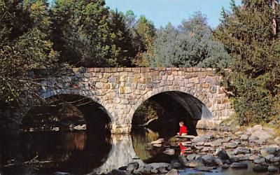 Big Flatbrook, Stokes State Forest Branchville, New Jersey Postcard