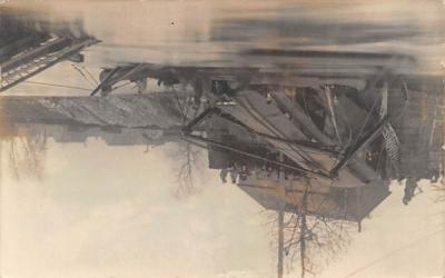 1911 Disaster Burlington, New Jersey Postcard
