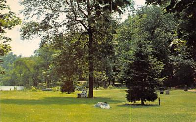 A veiw of the Grace Lord Park Boonton, New Jersey Postcard