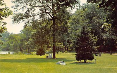 A view of the Grace Lord Park Boonton, New Jersey Postcard
