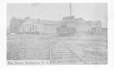 Elm Street Bridgeton, New Jersey Postcard