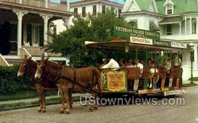 Greetings From Victorian Village  - Cape May, New Jersey NJ Postcard