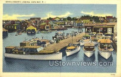 Schallengers  - Cape May, New Jersey NJ Postcard