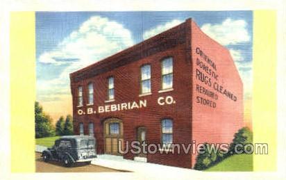 Ob Bebirian Company  - Camden, New Jersey NJ Postcard