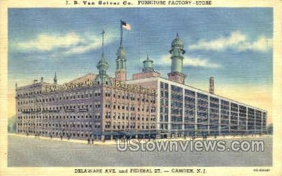 Delaware Avenue  - Camden, New Jersey NJ Postcard