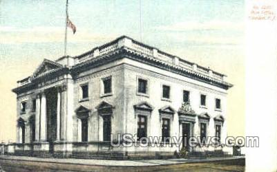 Post Office  - Camden, New Jersey NJ Postcard