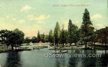 Knights Park  - Camden, New Jersey NJ Postcard