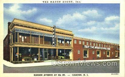 The Naden Store Inc.  - Camden, New Jersey NJ Postcard