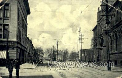 Federal Arch Streets  - Camden, New Jersey NJ Postcard