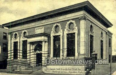 State Deposit And Trust  - Camden, New Jersey NJ Postcard